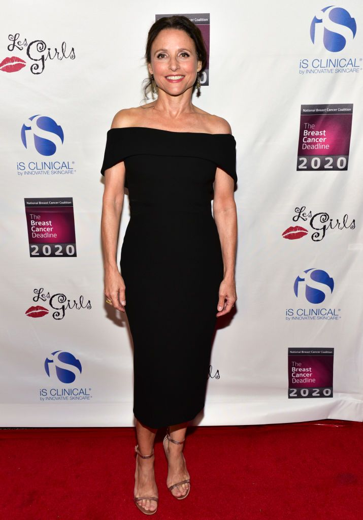 Actress Julia Louis Dreyfus Attends The National Breast