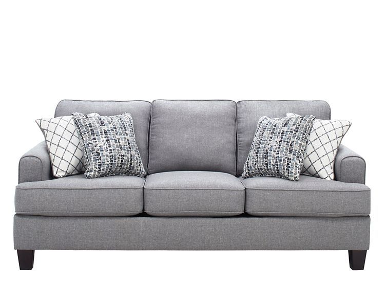 Sofas Couches Raymour Flanigan Grey Upholstery Sofa Comfortable