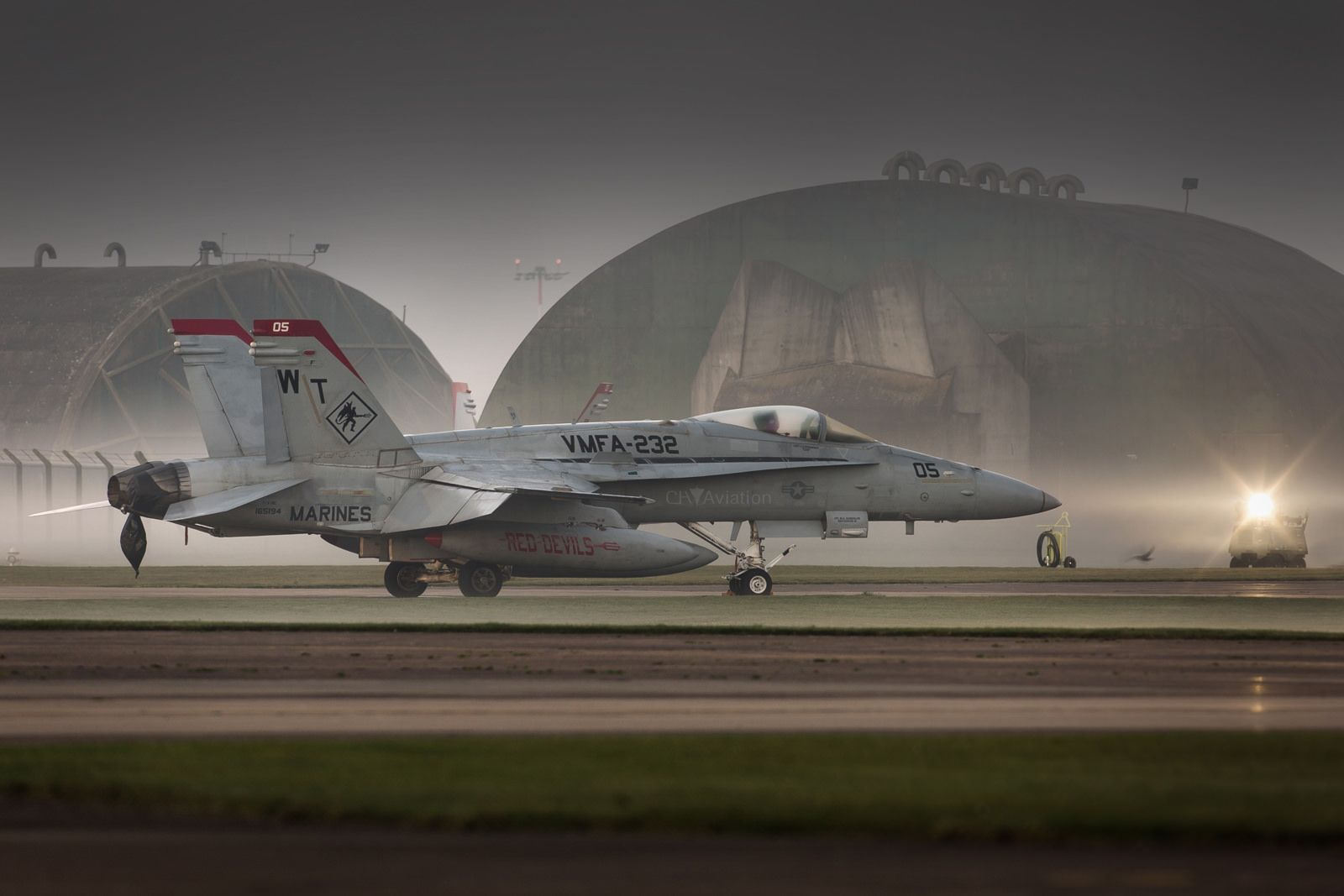 Red Devils Us Marines Vmfa 232 F A 18c Hornet