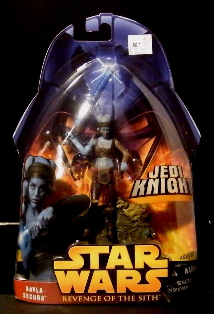 2005 Star Wars Revenge of the Sith Aayla Secura Jedi Knight