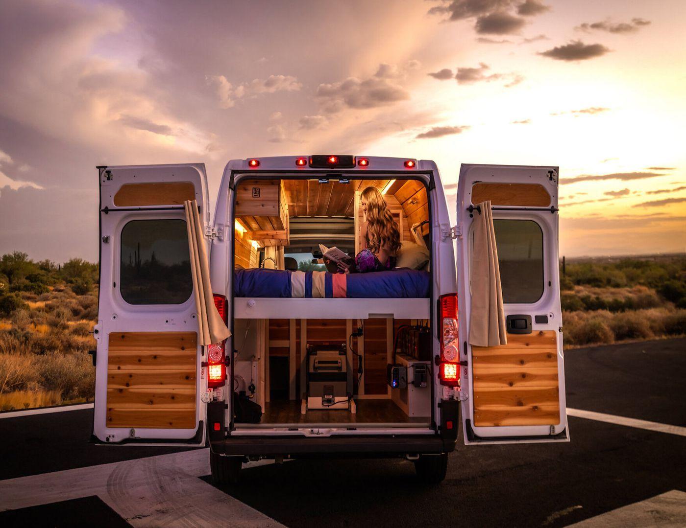 5 affordable camper vans for sale in 2020 van for sale