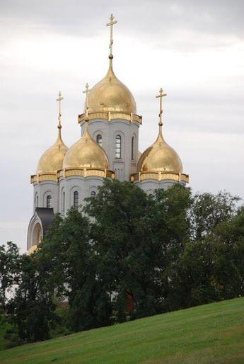 Храм Всех Святых. Волгоград, Россия   Соборы, Россия и Святые
