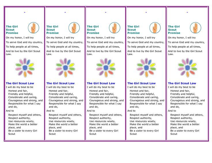 image result for girl scout promise and law printable bookmark for girl scout promise coloring pages daisies girl scout promise coloring page