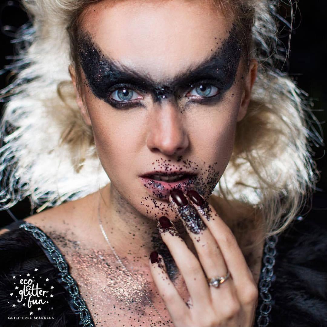 dark fallen angel halloween makeup - explore your darker side and