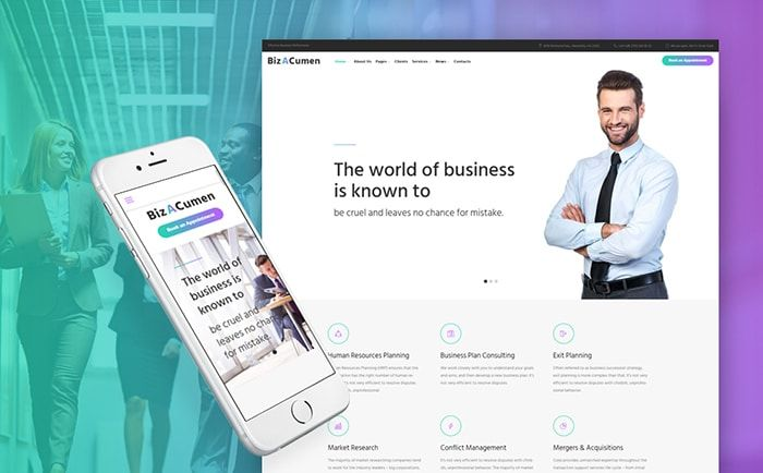 Here are 20 small business WordPress themes, all created by one of ...