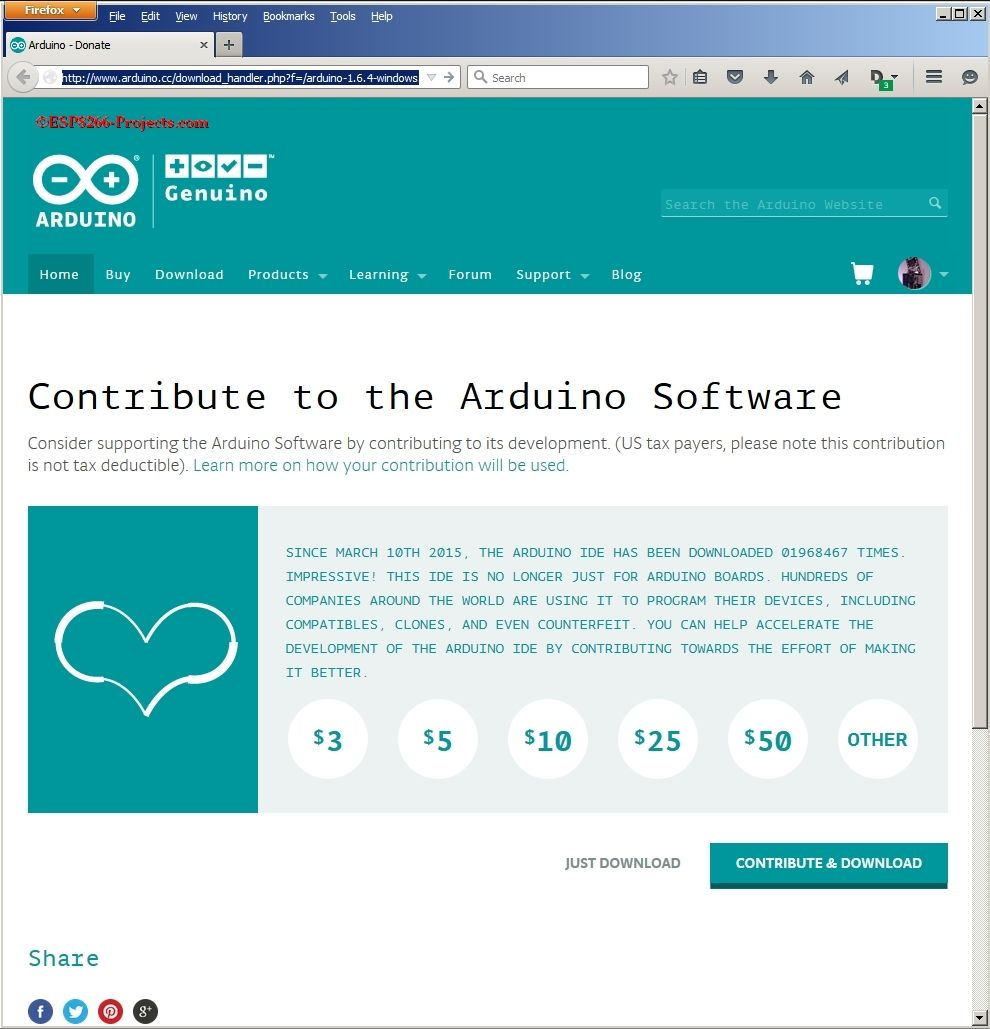 ArduinoIDE, ESP8266, ESP-07, ESP-12, WIFI module, Web server