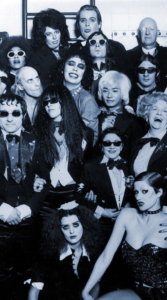 dontdreamitbehim:  The Rocky Horror Picture Show Cast (1975)
