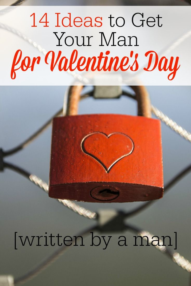 14 ideas to get your man for valentines day - What To Get Men For Valentines Day