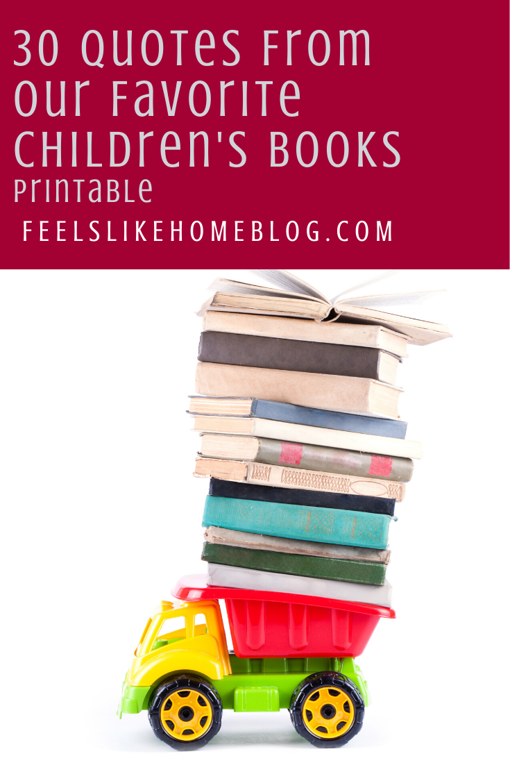 30 quotes from our favorite children's literature