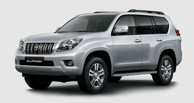 The Toyota Land Cruiser Prado Is Our Large Luxury Suv Model It