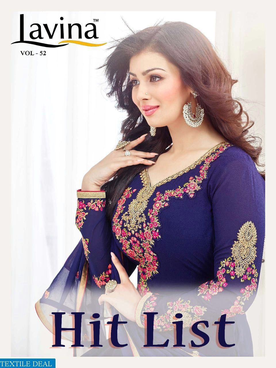 005ab6e51b Shop Now Lavina Wholesales Hit List Ethnic Suits Catalogs at Best Rate Only  at #Textiledeal