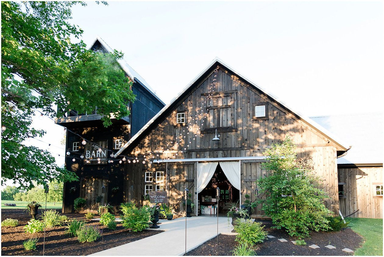The Barn at Kennedy Farm Wedding, Lizton Wedding barn ...