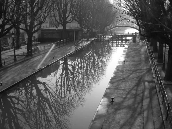 Parigi, canal St Martin