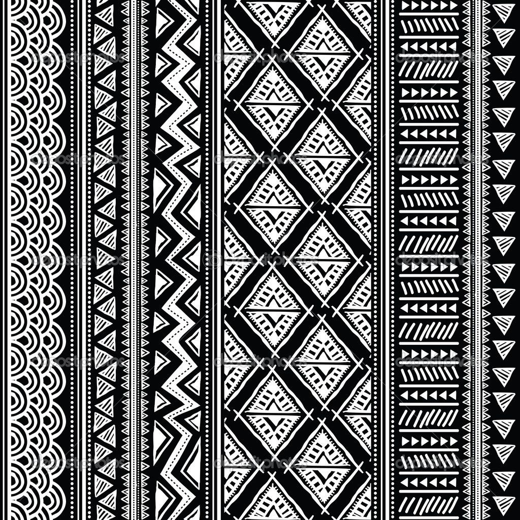 Black White Pattern We Heart It Wallpaper Black And White