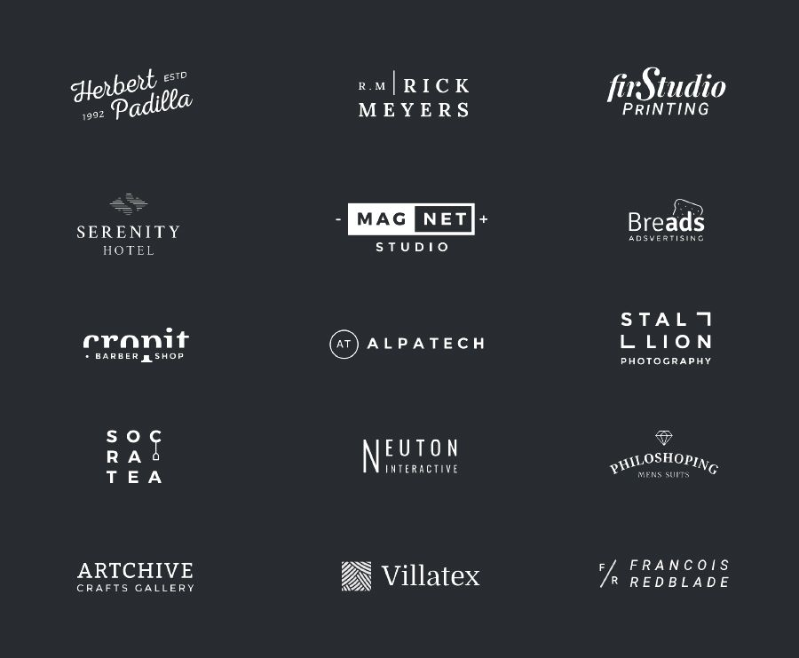 100 free logo templates to speed up your logo design process logo