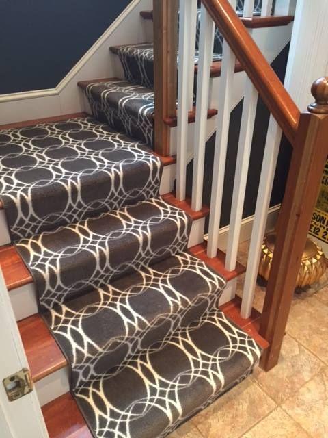 Best Milliken Bound Stair Runner Installed By Hopkins Carpet 640 x 480