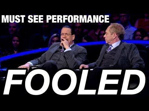 (2) Card Trick SO IMPOSSIBLE It FOOLED Penn & Teller