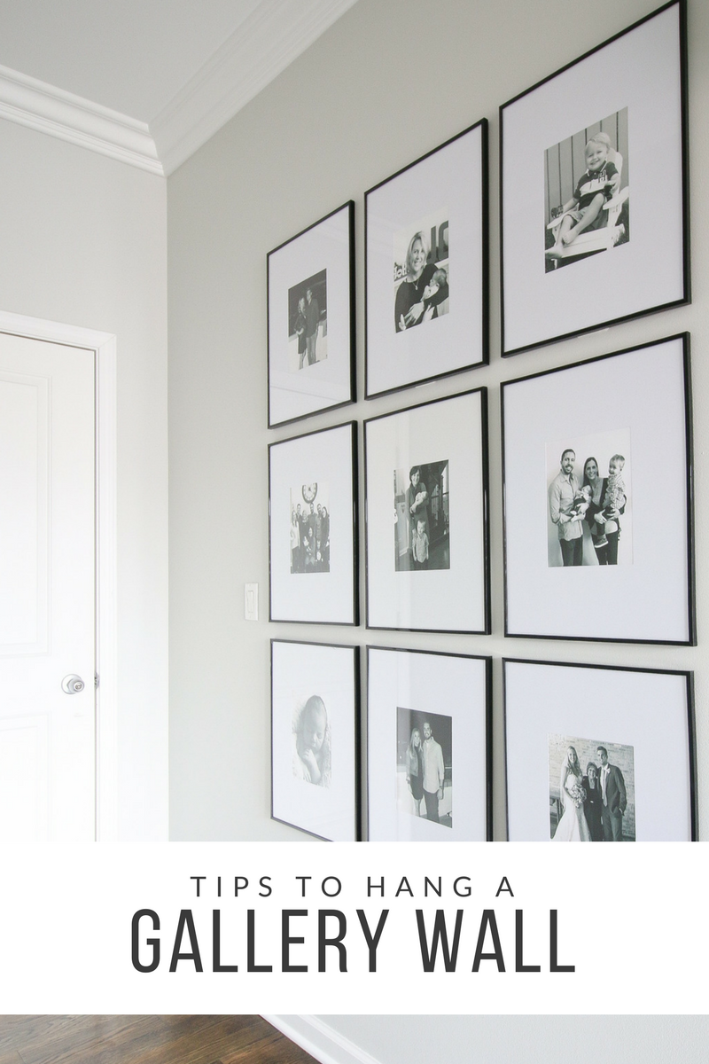 Tips To Hang A Symmetrical Gallery Wall In Your Hallway The Diy Playbook Gallery Wall Frames Gallery Wall Frames On Wall