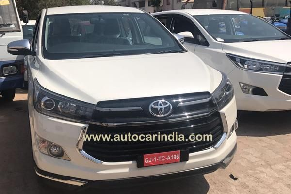 New Toyota Innova Crysta Touring Sport Variant Expected Launch Images Autocar India Toyota Innova Toyota Touring