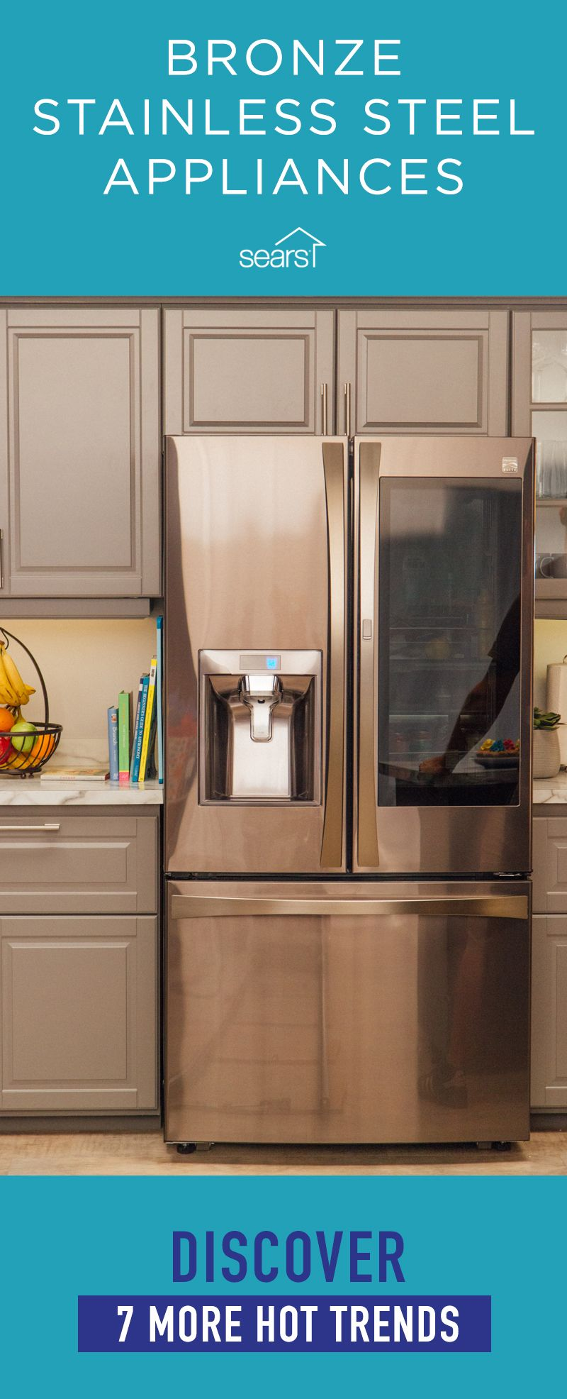 Bronze Stainless Steel Appliances Are Just One Of This Year S Hot Appliance Trends Appliances Are Remodel Kitchen Appliances Appliances Design Copper Kitchen