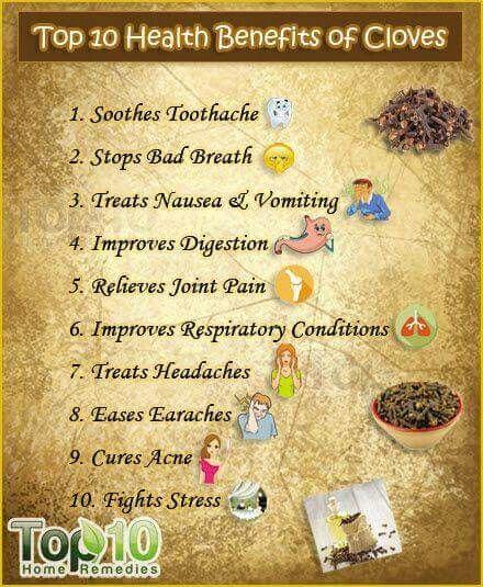 Cloves | health | Coconut health benefits, Cloves benefits, Tomato