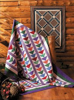 Eleanor Burns Quilt Patterns Flying Geese Quilt In A Day