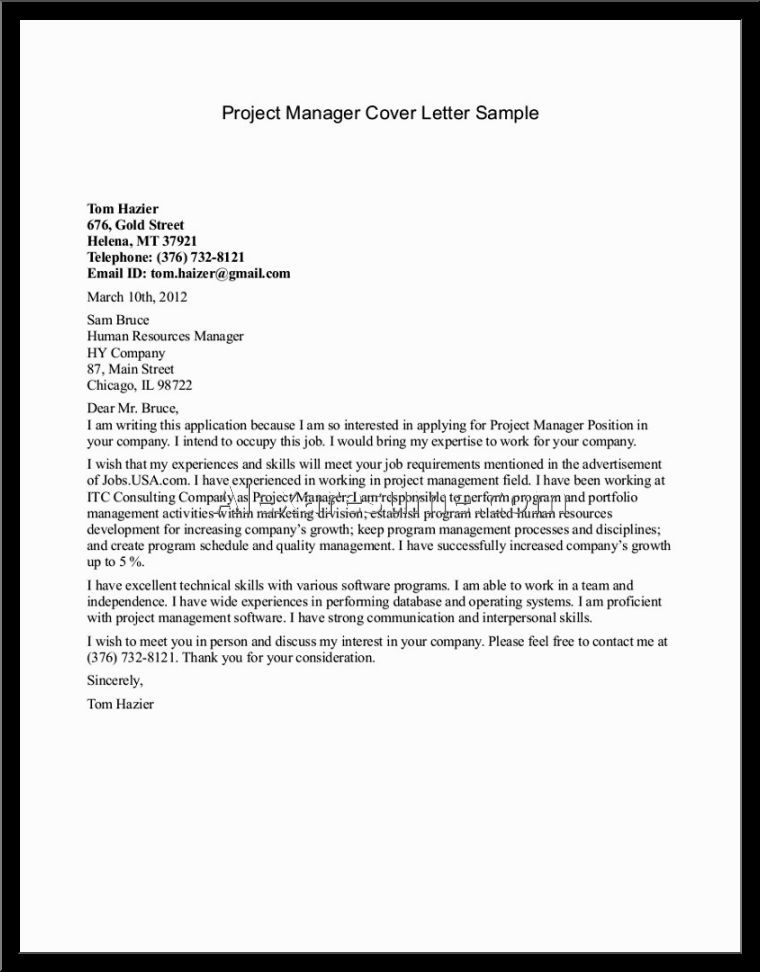 management resume cover letter samples project sample gallery - management resume cover letter
