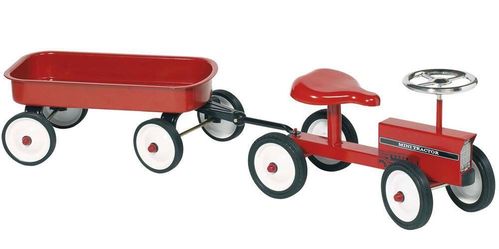 Tracteur enfant avec remorque enfants barn leksaker et barninredning - Tracteur remorque enfant ...