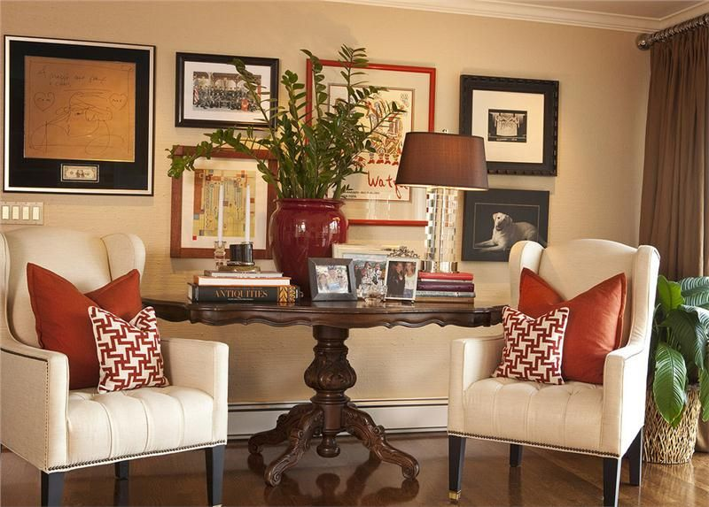 Sitting Area Traditional Family Rooms Family Room Family