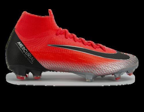 Nike Men's Mercurial CR7 Superfly 6 Elite FG Bright Crimson