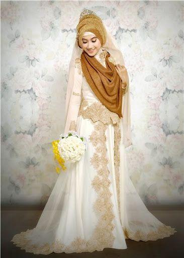 Model Gaun Pengantin Muslimah Terbaru Dan Syar I Jilbab In 2018