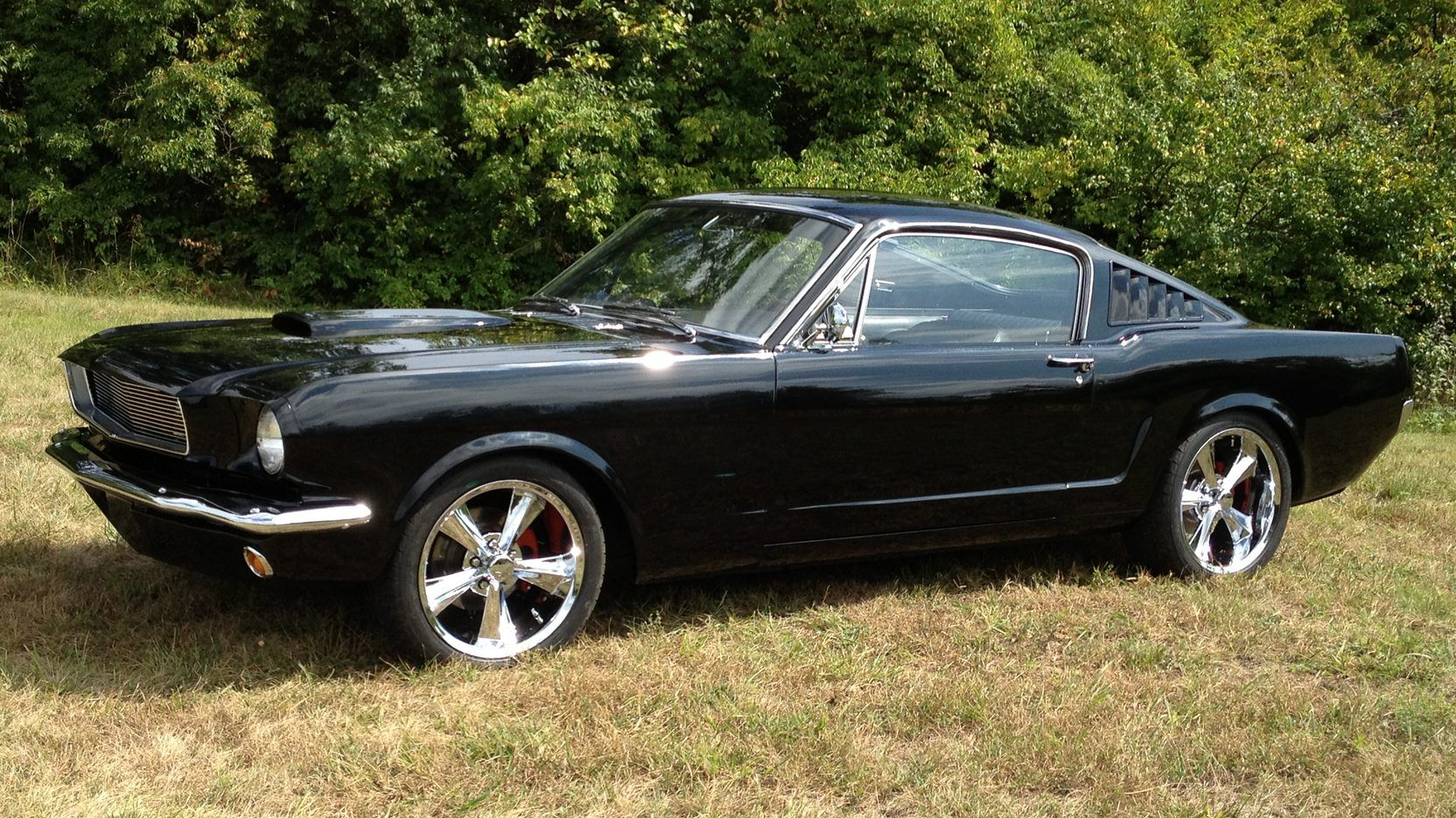 1965 Ford Mustang Fastback presented as Lot S4 at