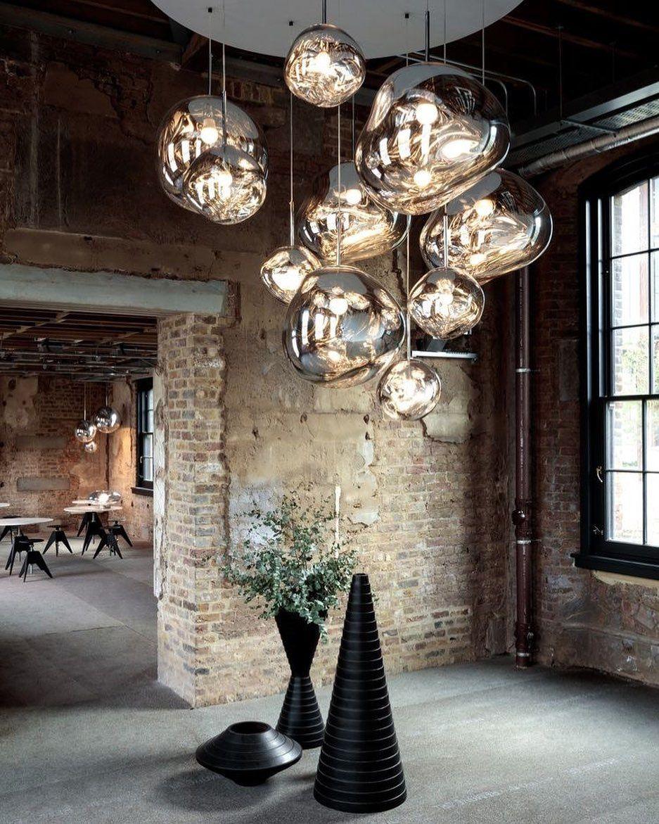 Raffaella Regondi Conti On Instagram Bubbles Lights Are One Of The Best Option To Decor With A Scenographic Effec In 2020 Tom Dixon Lighting Tom Dixon Tom Dixon Melt