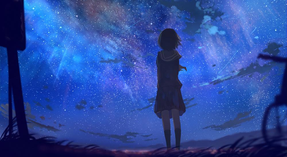 The Concept Of Universe Anime Wallpaper Cute Anime Wallpaper Anime Galaxy