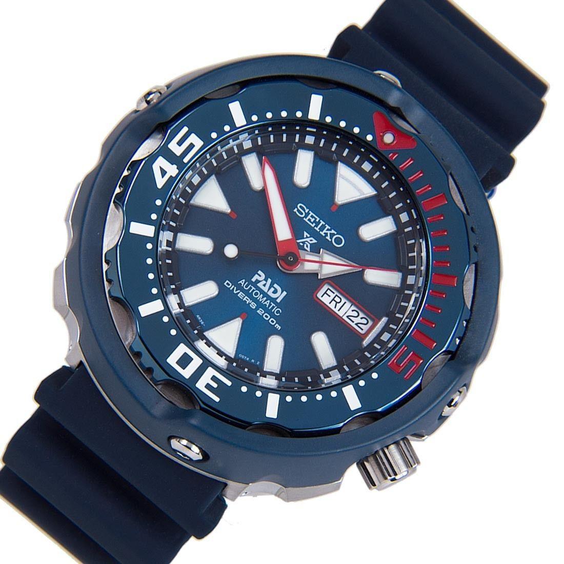 Srpa83k Srpa83 Seiko Padi Prospex Mechanical Lumibrite Hands Markers Rotating Bezel Divers Watch Seiko Seiko Diver Dive Watches