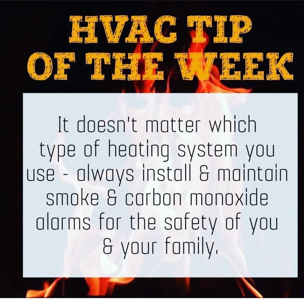 Hvac Tip Of The Week Hvactips Hvactipoftheweek Hvacsystem Hvac