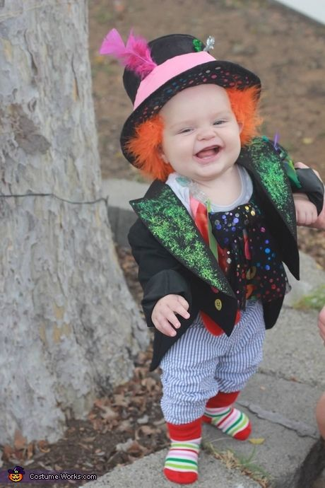 Cute baby costume ideas - Mad Hatter Baby Costume