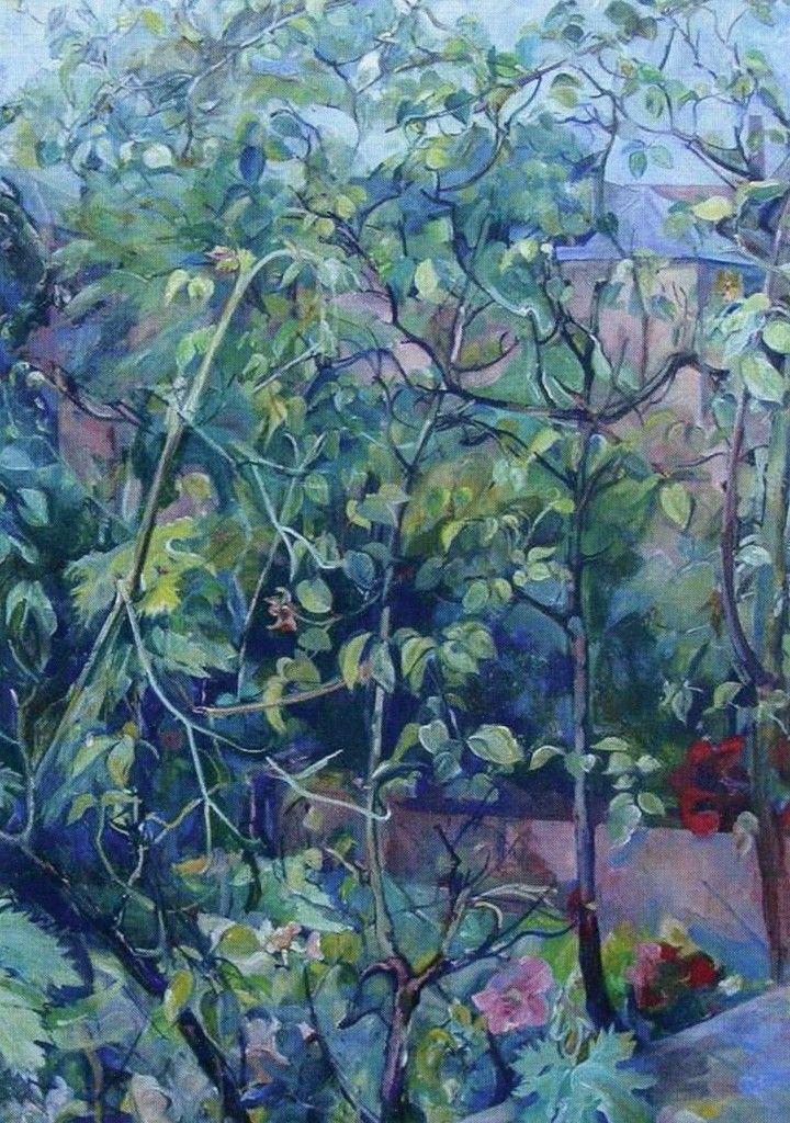 Malvina Cheek, Foliage, Well Walk (undated).