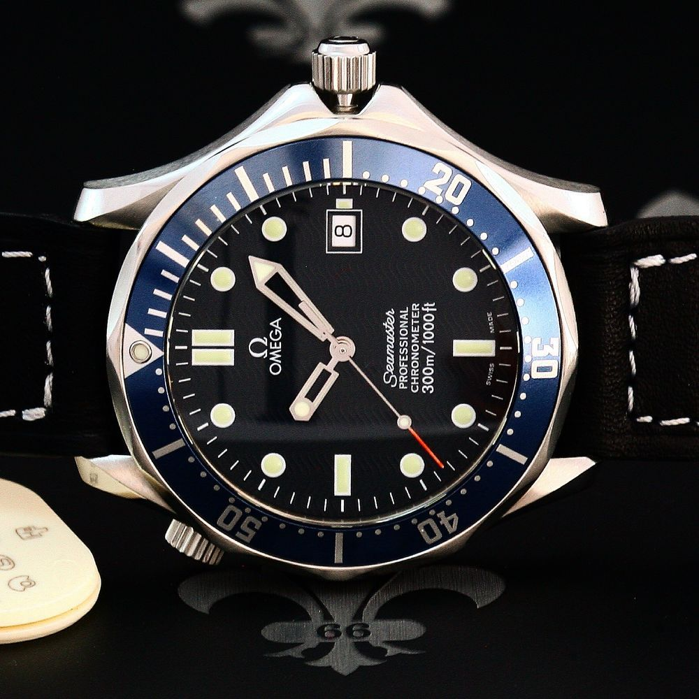 Omega Seamaster Pro 300m Automatic Diving Watch Ref