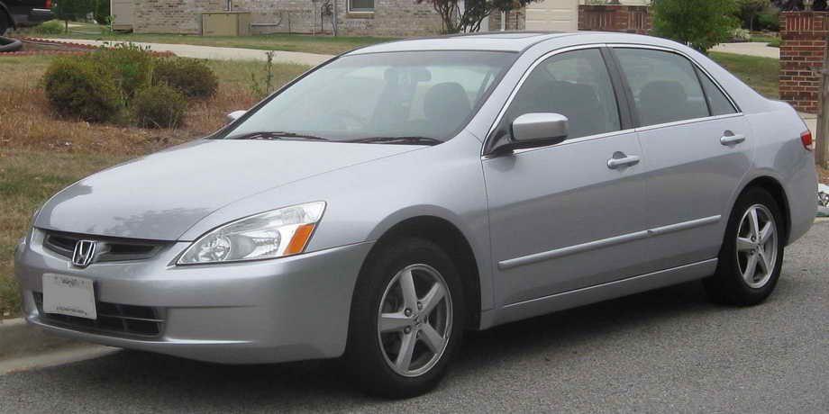 2004 Honda Accord Tire Size