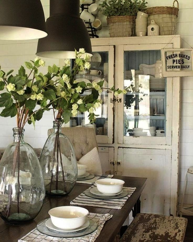 Rustic Farmhouse Decor Table Centerpieces 43 Gorgeous Rustic Farmhouse Decor Table Centerpieces 43 Gorgeous Rustic Farmhouse Decor Table Centerpieces Always wanted to dis...