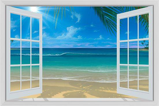 Sun Shine Through The Window Mural   David Miller| Murals Your Way Part 53