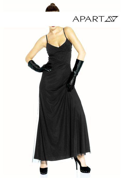 #Lange #Abendkleid in #schwarz-392647 | Abendkleid, Lange ...