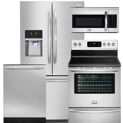 Frigidaire Gallery 174 Stainless Steel Appliance Suite 4 Pc