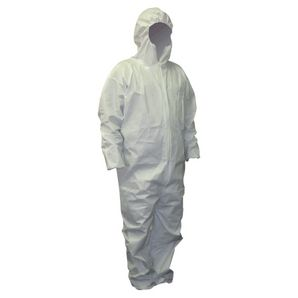 Buffalo Industries Hooded Microporous Disposable Coverall-Size Medium 68253