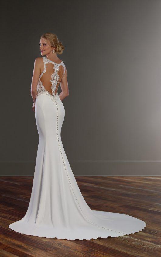 Wedding Dresses | Wedding dress, Weddings and Crepe wedding dress