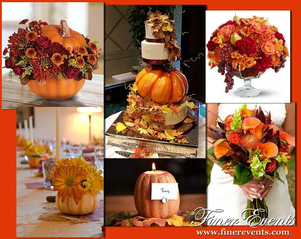 Ever Wonder What A Thanksgiving Themed Wedding Would Look Like We Ve