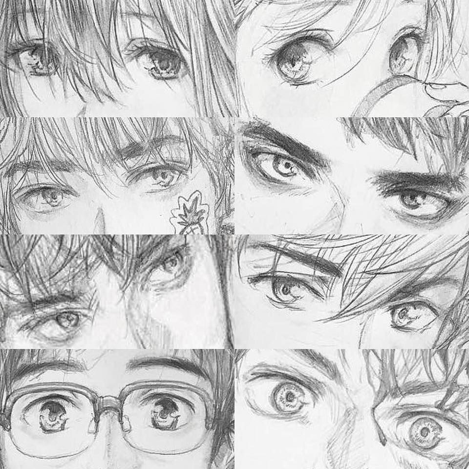 Anime eyes by shinji chibana