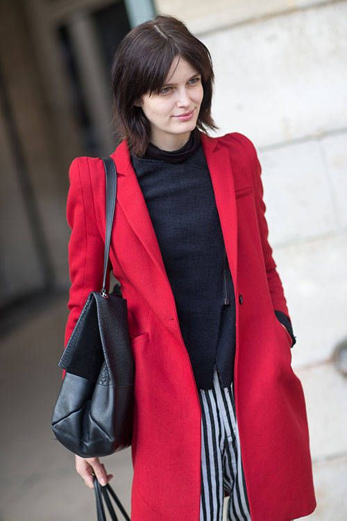 Outfit inspiration from the chic street style set in Paris.