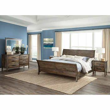 Camano 5-piece Storage Queen Bedroom Set Set Includes Bed, Dresser